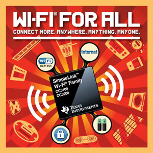 Texas Instruments SimpleLink Wi-Fi Chip