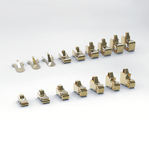 TE Connectivity offers connectors with spring finger contacts that save space in wearable electronics.