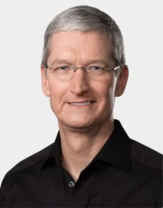 Tim Cook, CEO, Apple Inc.