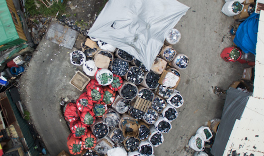 One of what are believed to be 100's of electronics junkyards in Hong Kong's New Territories region, receiving US e-waste. Image courtesy: Basel Action Network
