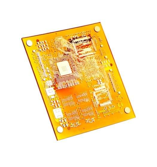 Multilayer PCB printed on a 3D printer