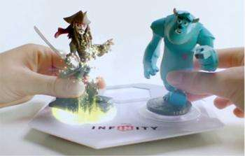 Crossover: Disney's coming Disney Infinity game will allow players to place a character from one world into another (such as putting Jack Sparrow from Pirates of the Caribbean into the Incredibles' world). (br></noscript>(Source: www.disneywikia.com)