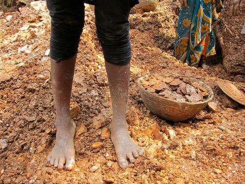 Children are forced to work in mica mines in India to dig up the minerals needed in a variety of products from cosmetics to electronics.