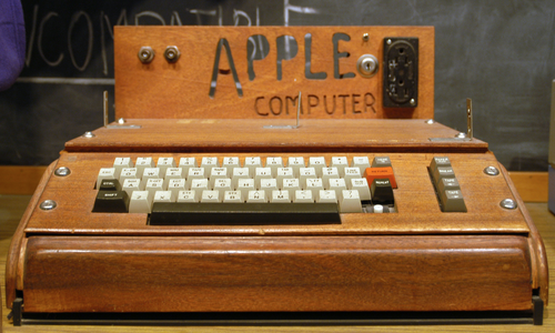 The Apple-I computer was invented by Wozniak for his own use since he wanted to experiment with computing at home when all that existed in those days were unaffordable mainframes. (Source: Smithsonian)