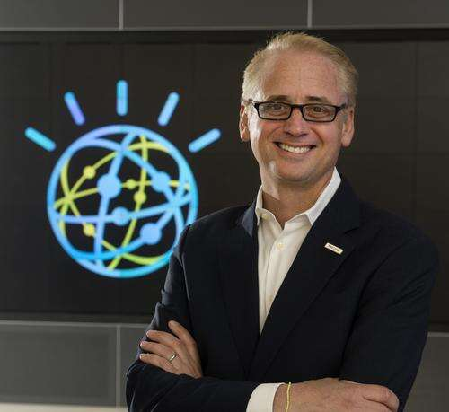 David Kenny, the new leader and General Manager of IBM Watson (since January 2016) has wrangled a $5 million XPrize for the Cognitive Computing Competition. (Source: IBM)