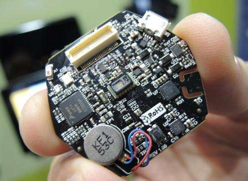 NXP won a reader's choice award at ARM Tech Con for its $49 Hexiwear IoT reference design, one of many IoT components ready to roll. (Image: EE Times)