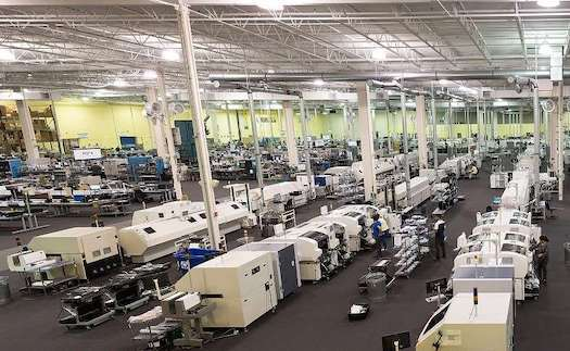 Morey Factory, based in Southwest Chicago, makes sub-assemblies for automotive, aero/defense, and industrial OEMs. (Source: Morey)